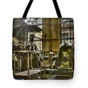 In The Ship-lift Engine Room Tote Bag