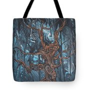 In The Spook Of The Night Tote Bag