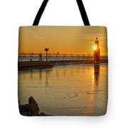 In The Still Of The Light Tote Bag