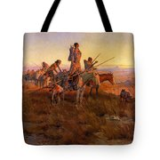 In The Wake Of The Buffalo Hunters Tote Bag