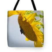 In The Wind - Sunflower Tote Bag