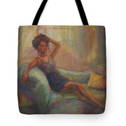 In The Window Light Tote Bag