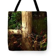 In The Woods By The River Tote Bag