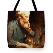 In The Workshop Tote Bag by John Ritchie