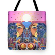 In Unity And Harmony Tote Bag