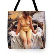In Werners Rowing Boat Tote Bag