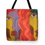 In Your Shadow II Tote Bag