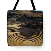 Inca Crop Circles At Moray Tote Bag