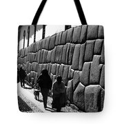 Inca Street Cusco Tote Bag