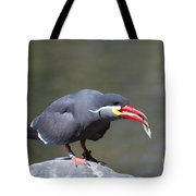 Inca Tern With A Fish Tote Bag