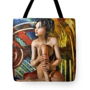 Inca Woman Tote Bag