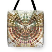 Incan Abstraction Tote Bag by Amanda Moore