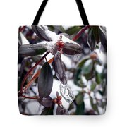 Incased In Ice Tote Bag
