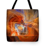 Incendiary Ammunition Abstract Tote Bag