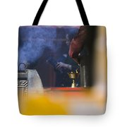 Incense Presentation At Yonghegong Temple 2 Of 5 Tote Bag