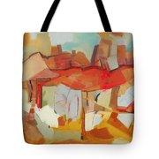 Incessant Urbanization Tote Bag