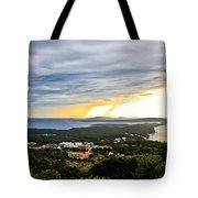 Incoming Storm Over Losinj Island Tote Bag
