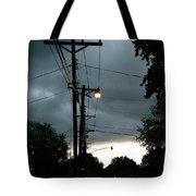 Incoming Storms Tote Bag