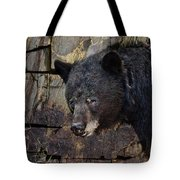 Inconspicuous Bear Tote Bag