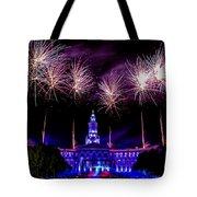 Independence Eve In Denver Colorado Tote Bag