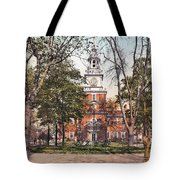 Independence Hall 1900 Tote Bag