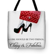 Independent Quote Tote Bag