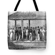 India Train Station, 1854 Tote Bag