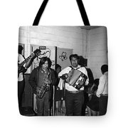 Indian Bar The Lucky Dollar  Tohono O'odham Chicken Scratch Band South Tucson Arizona 1975 Tote Bag