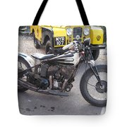 Indian Bike Tote Bag