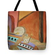 Indian Blankets Jars And Drums Tote Bag