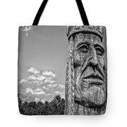 Indian Chief Charlestowne Landing Tote Bag