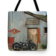 Indian Chout At The Old Okains Bay Garage 1 Tote Bag