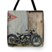 Indian Chout At The Old Okains Bay Garage 2 Tote Bag