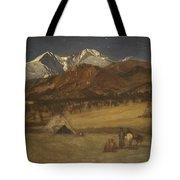 Indian Encampment - Evening Tote Bag