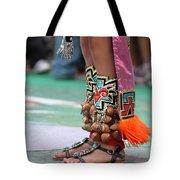Indian Feet Tote Bag