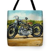 Indian Four 1933 Tote Bag