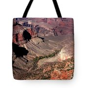 Indian Gardens In The Grand Canyon Tote Bag