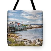 Indian Harbour Tote Bag