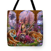 Indian Harmony Tote Bag