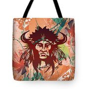 Indian Head Series 02 Tote Bag