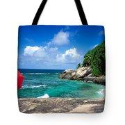 Indian Ocean Moyenne Island Seychelles Tote Bag