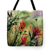 Indian Paint Brush Tote Bag