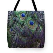 Indian Peacock Tote Bag