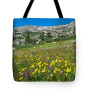 Indian Peaks Wildflower Meadow Tote Bag