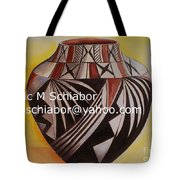 Indian Pottery Tote Bag
