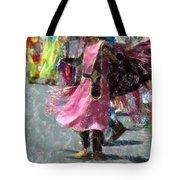 Indian Princess Dancer Tote Bag
