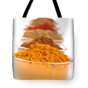 Indian Spices Tote Bag