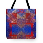 Indian Weave Abstract Tote Bag