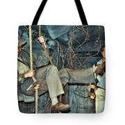 Indiana Jones Meets The Mummy Tote Bag