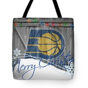 Indiana Pacers Tote Bag
